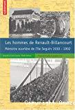 Les hommes de Renault-Billancourt