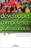 Développer la compétence des professionnels