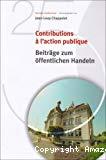 Contributions à l'action publique. Beiträge zum öffentlichen Handeln.