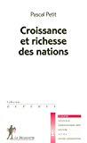 Croissance et richesse des nations.