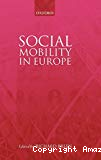 Social mobility in Europe.