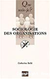 Sociologie des organisations.