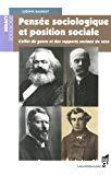Pensée sociologique et position sociale