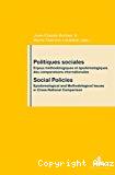 Politiques sociales : enjeux méthodologiques et épistémologiques des comparaisons internationales. Social policies : epistemological and methodological issues in cross-national comparison.