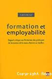 Formation et employabilité