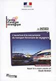 L'ouverture à la concurrence du transport ferroviaire de voyageurs.