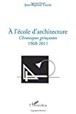 A l'école d'architecture