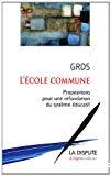 L'école commune