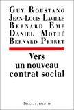 Vers un nouveau contrat social.