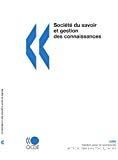 Société du savoir et gestion des connaissances.