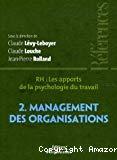 RH, les apports de la psychologie du travail. 2. Management des organisations.