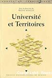 Université et territoires