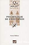 Psychologie de l'éducation.