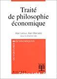 Traité de philosophie économique.