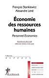Economie des ressources humaines