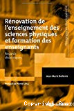 Rénovation de l'enseignement des sciences physiques et formation des enseignants