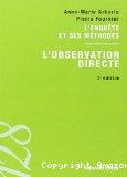 L'enquête et ses méthodes : l'observation directe.