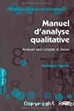Manuel d'analyse qualitative