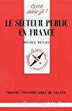 Le secteur public en France.